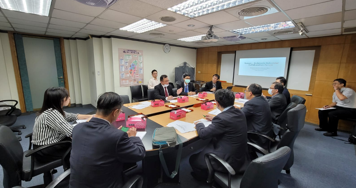 KDEI Taipei Courtesy Call Ke Dirjen Industrial Development Bureau (IDB) - MOEA