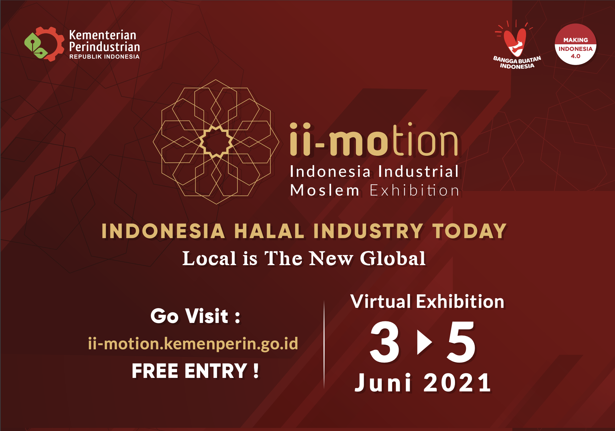 Indonesia Industrial Moslem Exhibition